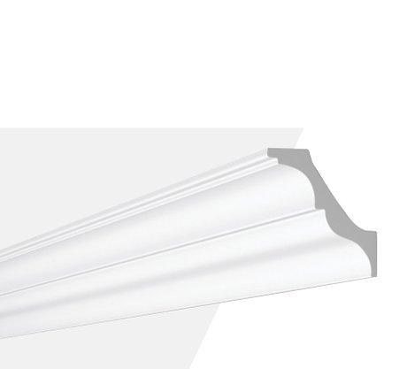 Rodateto Poliestireno AT 100X95x2000mm Branco Gart-2m