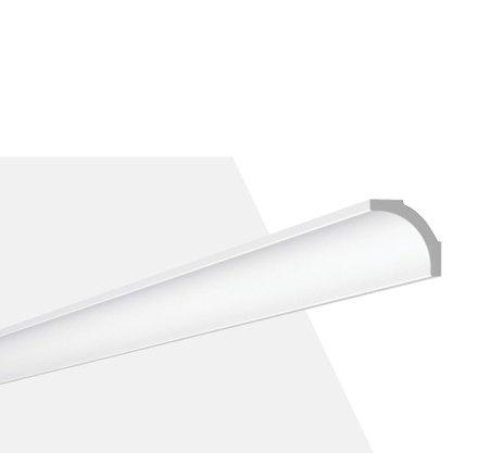 Rodateto Poliestireno B2 35x35x2000mm Branco Gart-2m