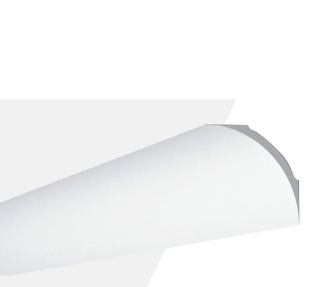 Rodateto Poliestireno NE4 100x100x2000mm Branco Gart-2m