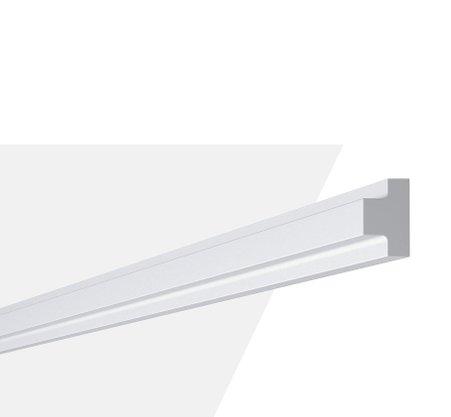 Rodateto Poliestireno T4 20X30x2000mm Branco Gart- 2m