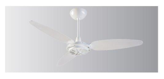 Ventilador de Teto Comercial 3 Pás 220V 3 Vel Branco Ventisol