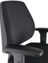 Cadeira Diretor Pro Opera. Base Gir.Fixa Braço T Preto-Cavaletti