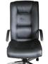 Cadeira Pres.Lumi Facto Grafite Base Cromada Giratória