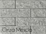 Revestimento de Tijolinho PU Ecobrick 75x270x9mm Cinza Mescla-Peça