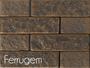 Revestimento de Tijolinho PU Ecobrick 75x270x9mm Ferrugem-Peça