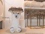 Rodapé Santa Luzia de Poliestireno Inova 520 250X16mm Branco-2,40mts