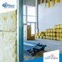 Rolo Lã De Vidro Isolamento Térmico Acústico 1200x12500x50mm-Isover